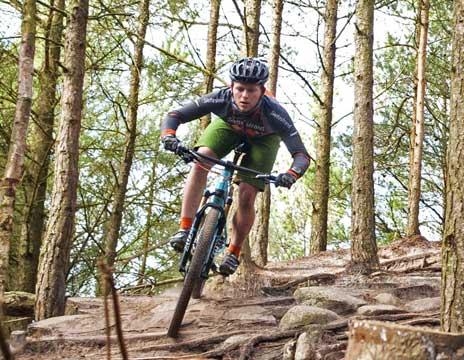 Mountainbikeophold Slettestrand